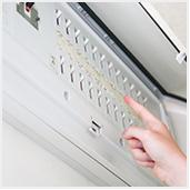 コンセント・スイッチの取り替え、電気容量変更、照明器具・電球交換、LEDの相談などお気軽にご相談ください。